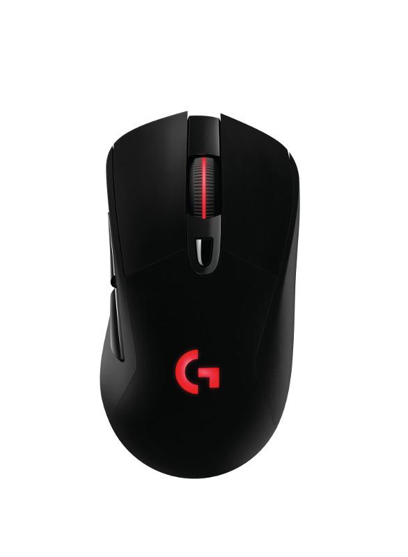 Logitech G703 Lightspeed bežični gaming miš, crna