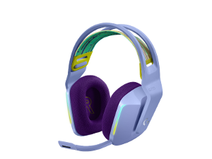 Logitech G733 gaming slušalice s mikrofonom, lilac