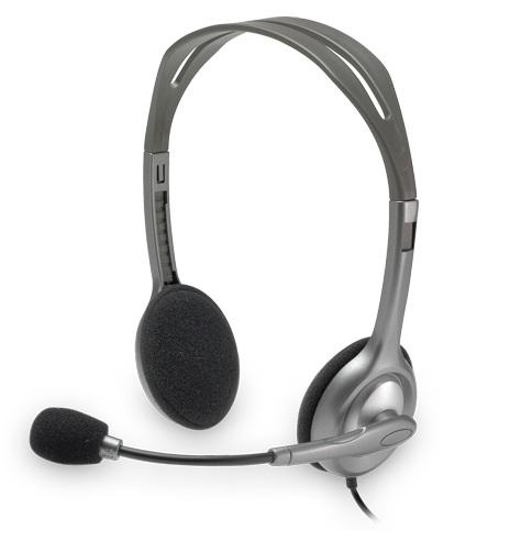 Logitech H110, slušalice s mikrofonom za notebook