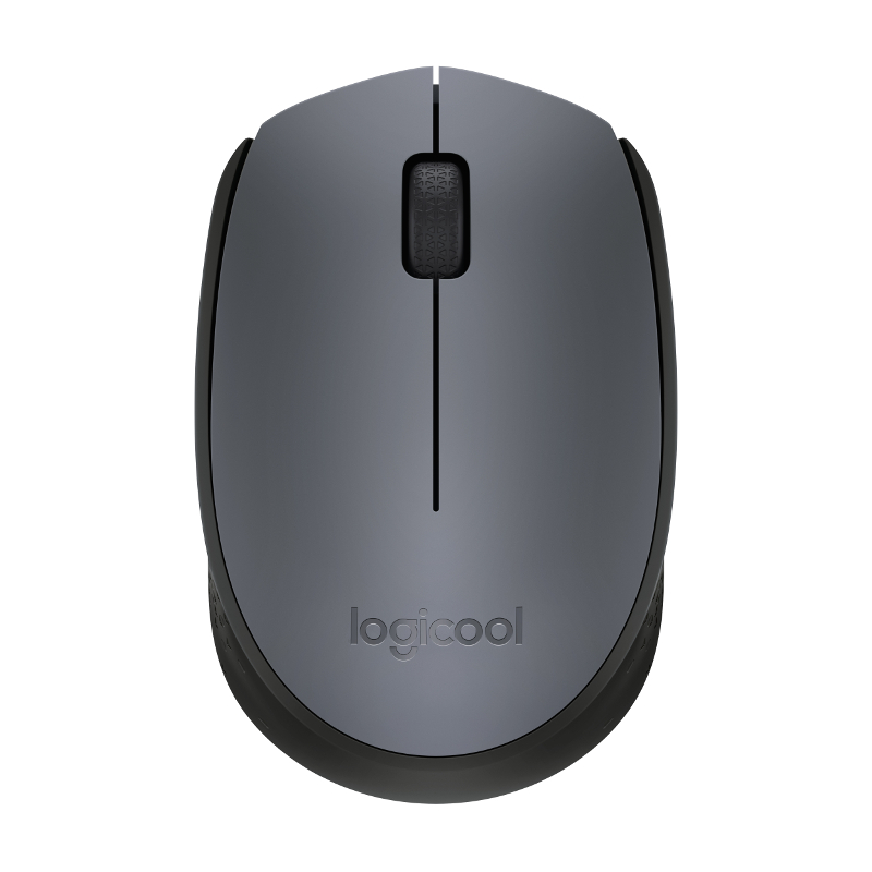 Logitech M171, bežični miš, crni