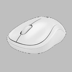 Logitech M220 Silent bežični optički miš, bijela