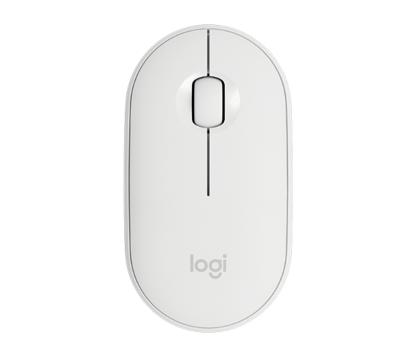 Logitech Pebble M350, bežični miš, bijeli