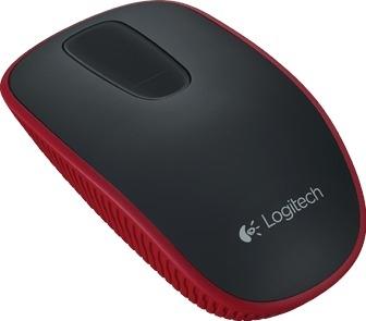 Logitech T400, miš na dodir, crveni