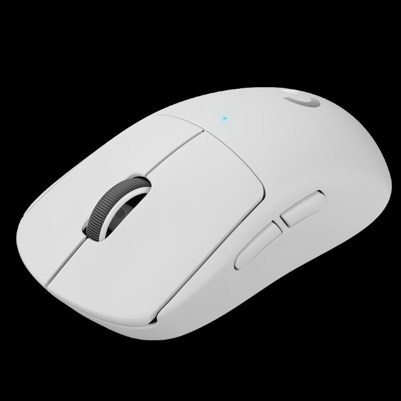 Logitech PRO X SUPERLIGHT, bežični miš, bijeli