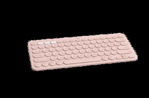Logitech K380 bežična BT tipk. s dodirom, roza