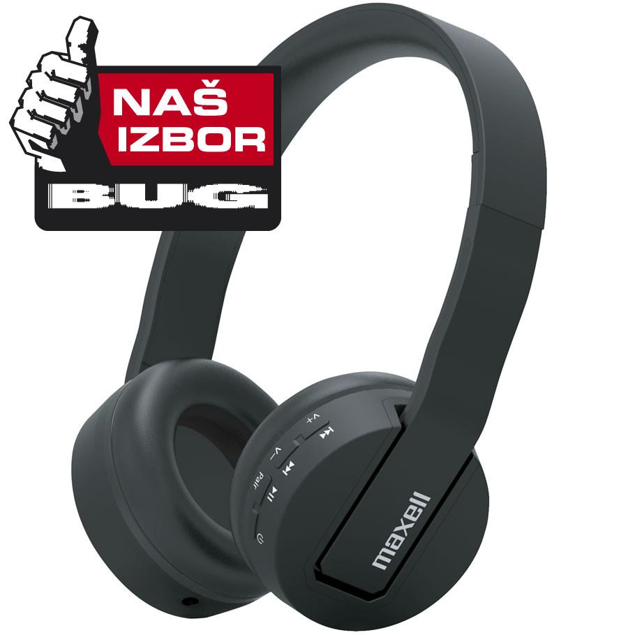 Maxell bežične slušalice BT800  crne