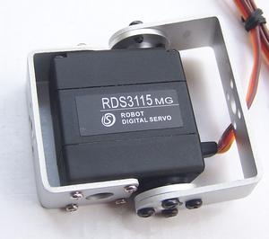 Robot servo RDS3115, 1.5Nm, metal, 270º, brackets