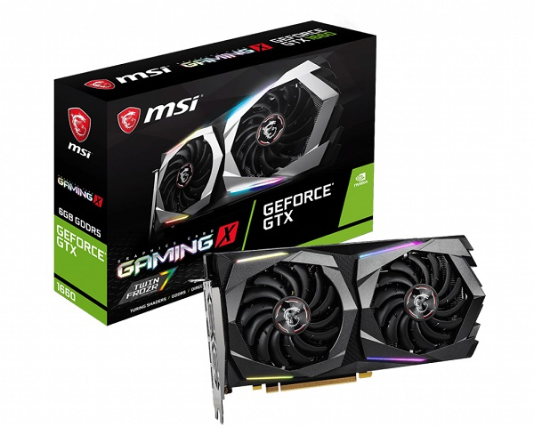 MSI GF GTX 1660 GAMING X 6G, 6GB