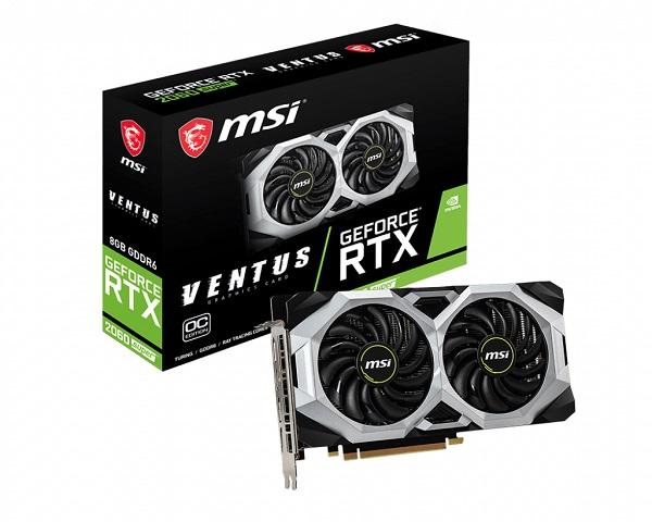 MSI GF RTX 2060 Super Ventus OC, 8GB