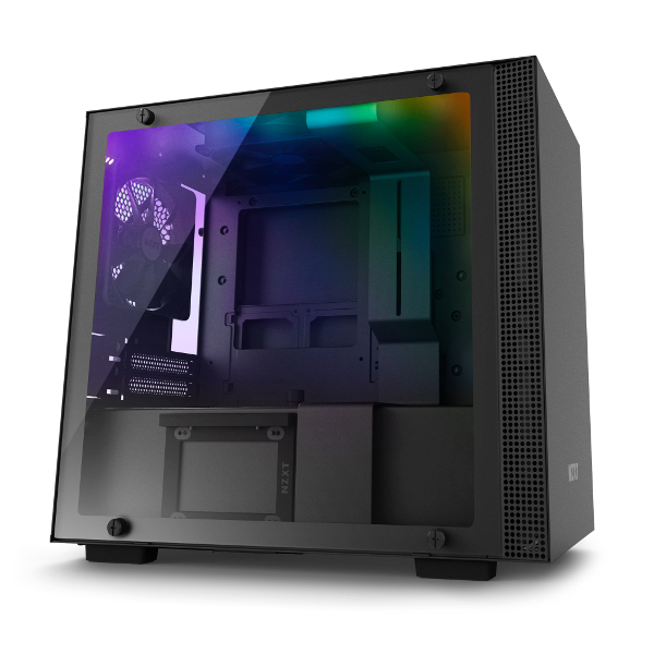 NZXT H210i pametno kućište, crno bez nap., ITX