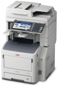 Oki MB770dfnfax,prnt/scan/copy/fax, 52 ppm