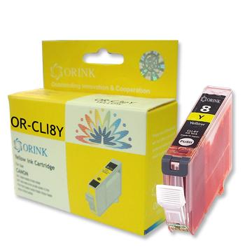 Orink Canon CLI-8Y, žuta (s mikročipom)
