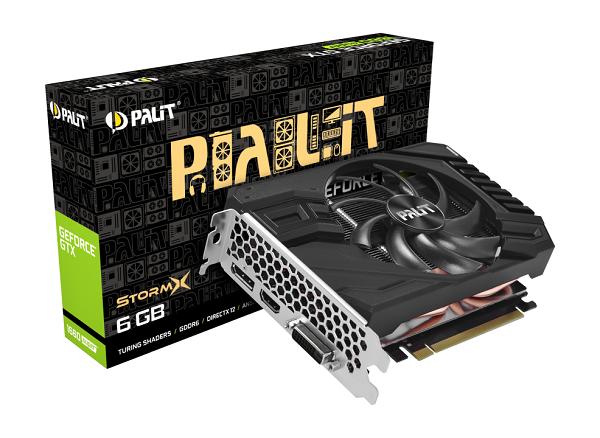 Palit GF GTX1660Super StormX, 6GB GDDR6