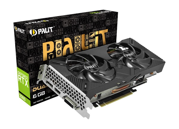 Palit GF RTX2060 Dual, 6GB