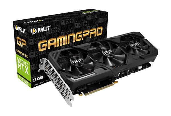 Palit GF RTX2070Super GamingPro, 8GB GDDR6