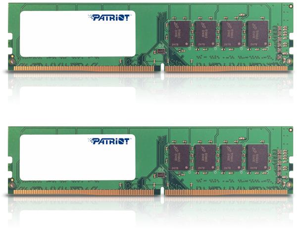 Patriot Signature,  DDR4, 2133Mhz, 16GB (2x8GB)