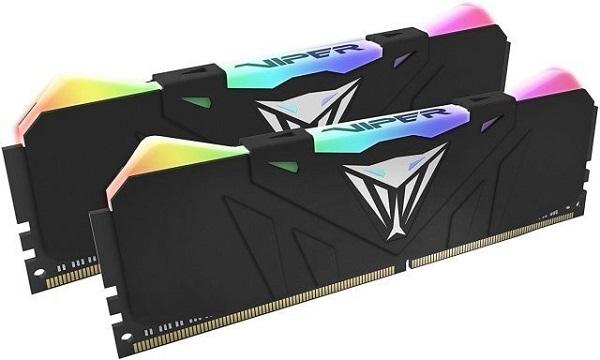 Patriot Viper RGB, 3600Mhz, 16GB (2x8GB), CL18