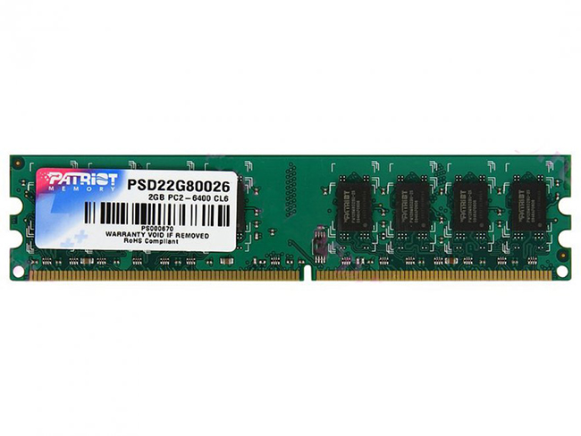 Patriot Signature,DDR2  800Mhz, 2GB