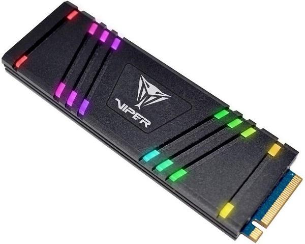 Patriot VIPER VPR100 RGB R3.3/W1.0, 256GB, M.2NVMe