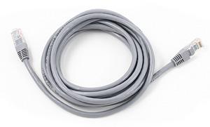 Patch kabel UTP Cat 5e, 50m, sivi, vrećica