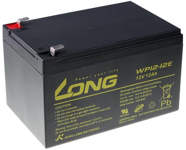 Avacom baterija za UPS, 12V 12Ah AGM F2 (WP12-12E)