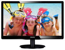 """Philips 19,53"""" 200V4QSBR LED, VGA, DVI"""