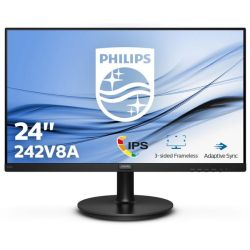 "Philips 23,8"" VA 242V8A, VGA, HDMI, DP, zvuč."