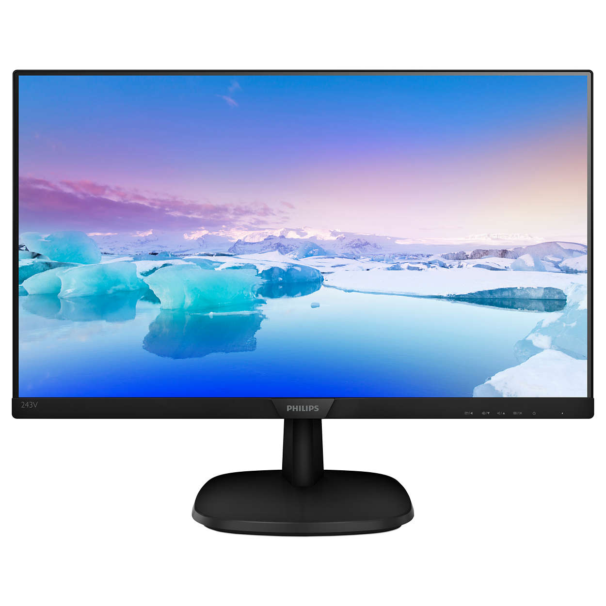 "Philips 23,8"" 223V7QHSB, IPS, VGA, DVI, HDMI"