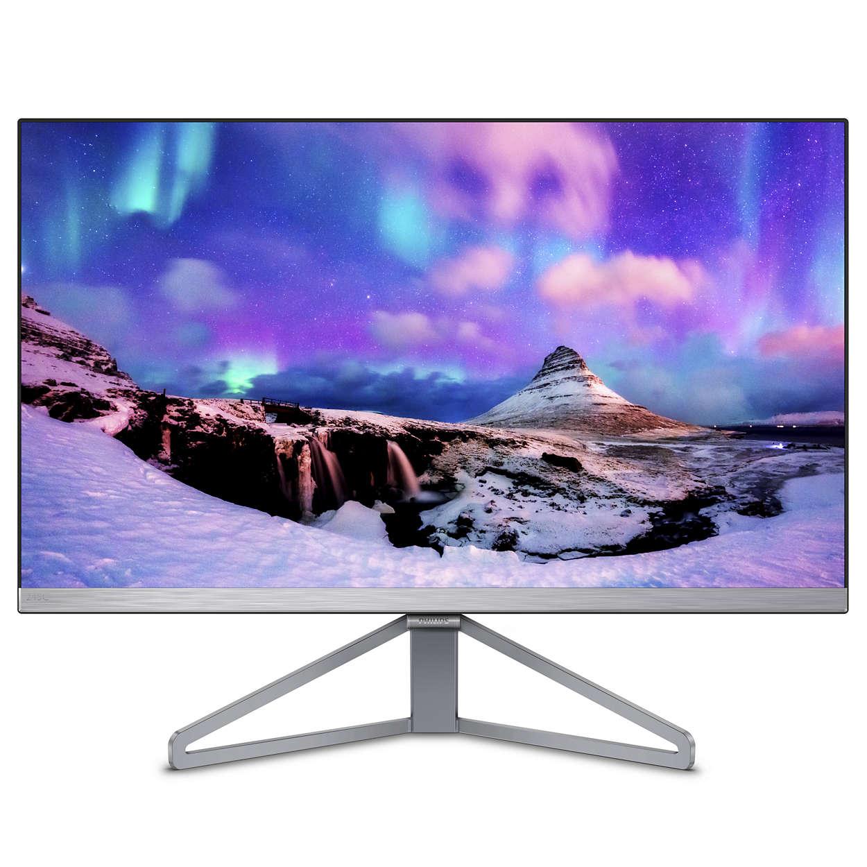 """Philips 23,8""""  245C7QJSB IPS, VGA, HDMI, DP, slim"""