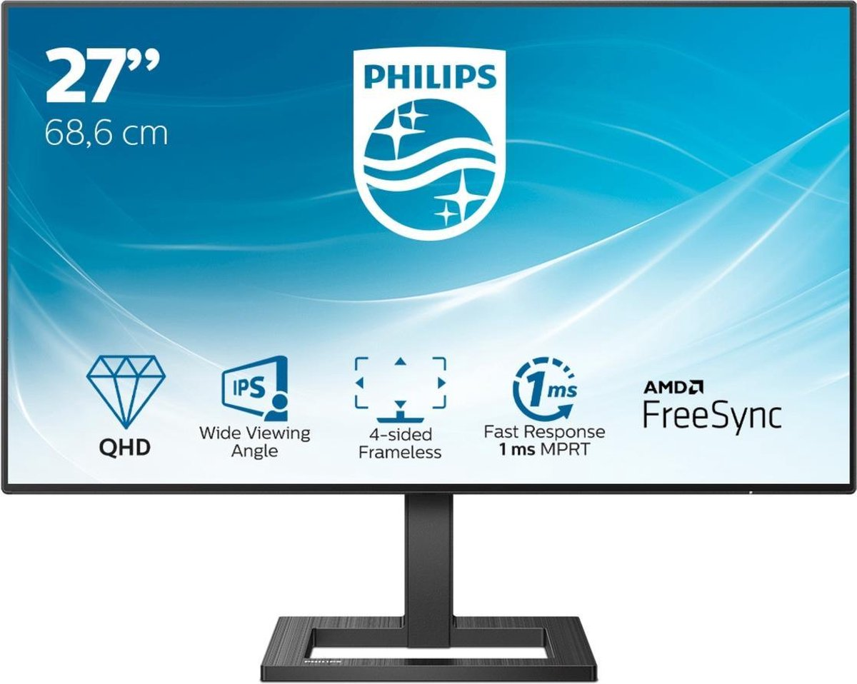 """Philips 27"""" 275E2FA, HDMI, DP,"""