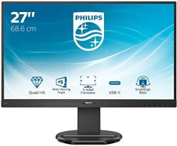 "Philips 27"" 276B9, IPS, DP, HDMI, USB-C, 65W, QHD"