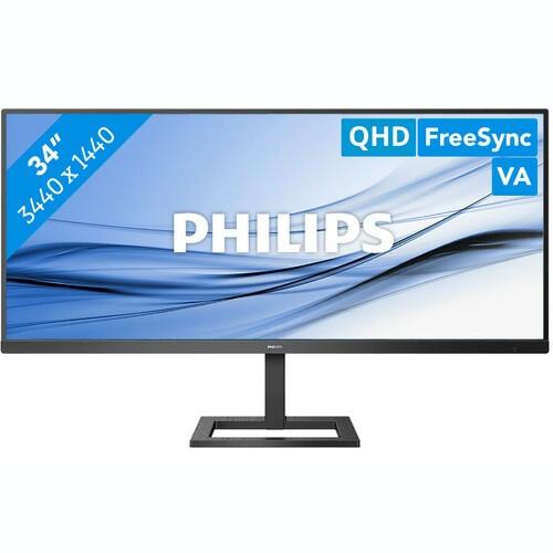"""Philips LED 34"""" 345E2AE, 2xHDMI, DP, zvu., HAS, UW"""