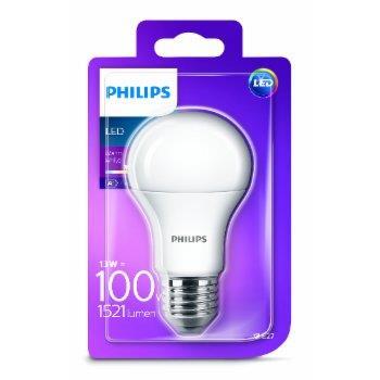 Philips LED žarulja, E27, A60, topla, 13W, mutna