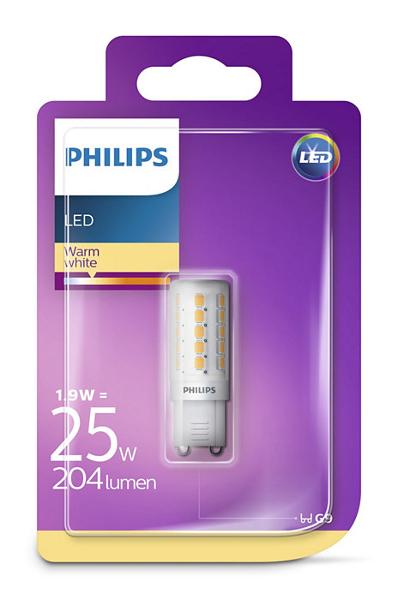 Philips LED žarulja, G9, topla, 2.5W