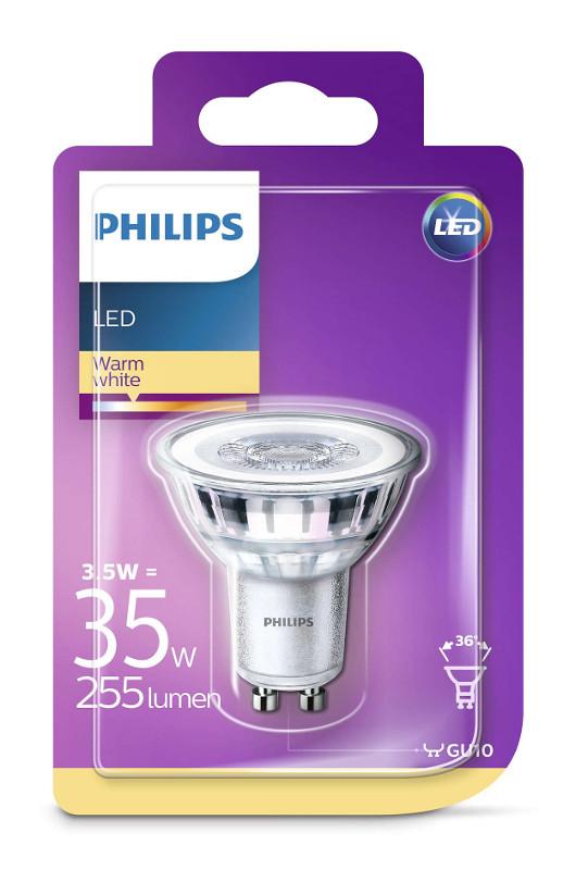 Philips LED žarulja, GU10, topla, 3.5W, 36 st.