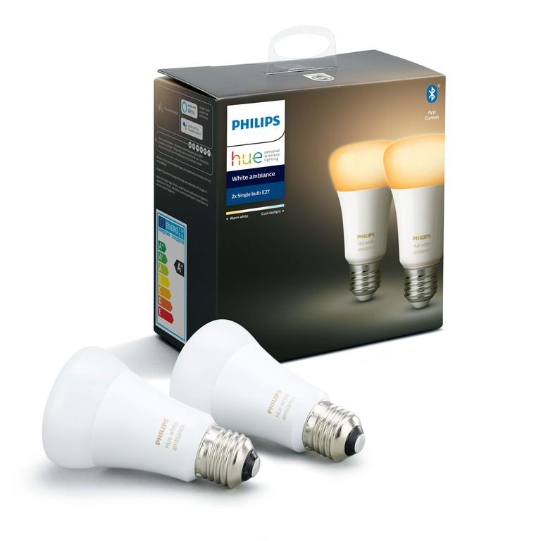 Philips HUE žarulja, E27, 2 komada,boja, bluetooth
