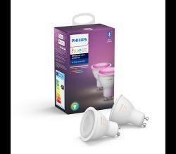 Philips HUE žarulja, GU10, boja, 2 komada