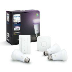 Philips HUE starter kit 3, E27, bijela i boja +dim