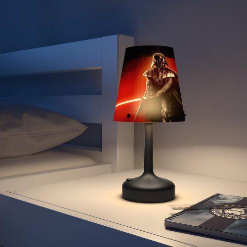 Philips stolna lampa Star Wars Darth Vader, bat.