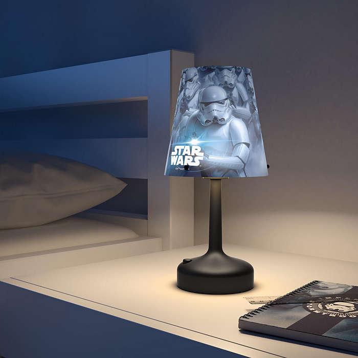 Philips stolna lampa Star Wars Stormtrooper, bat.