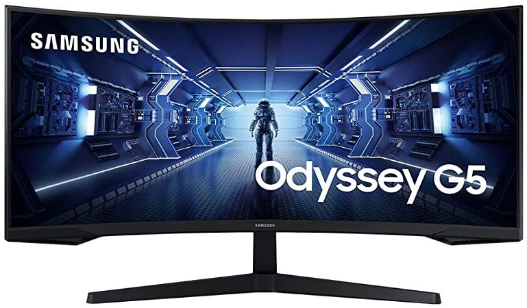 """Samsung 34"""" LC34G55TWWRXEN, HDMi, DP, 165Hz"""