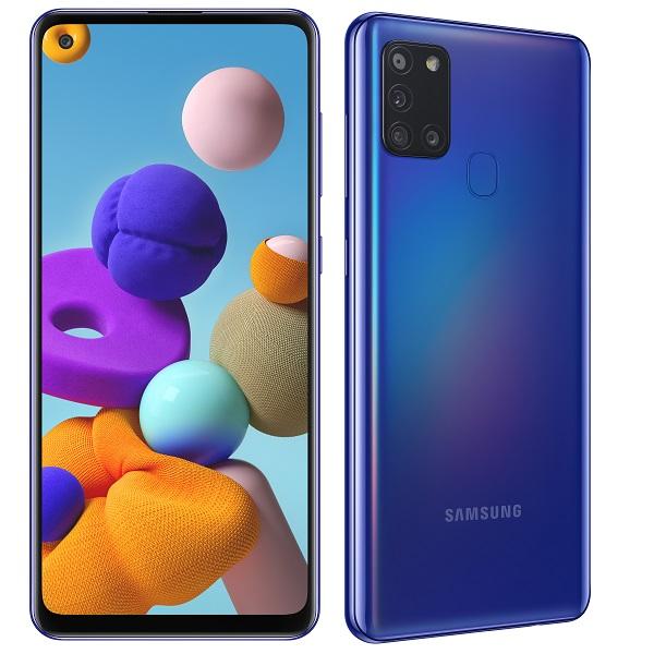 "Samsung Galaxy A21s 6,5"", 4GB/64GB, plavi"
