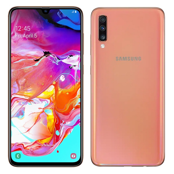 "Samsung Galaxy A70 6,7"", 6GB/128GB, narančasti"