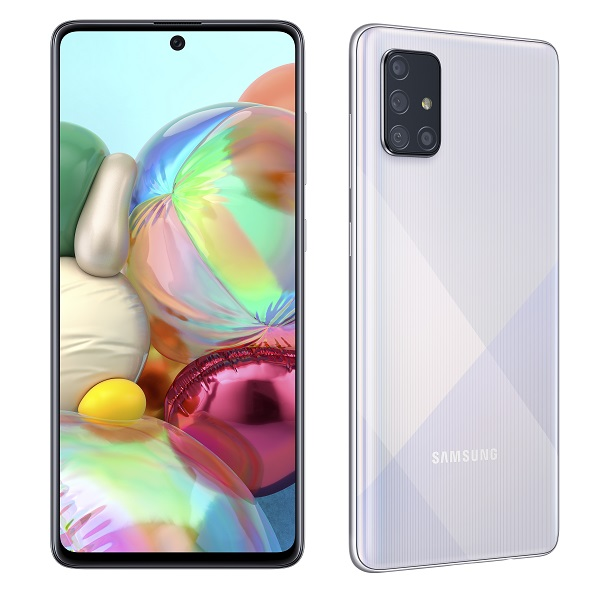 Samsung Galaxy A71 srebrni