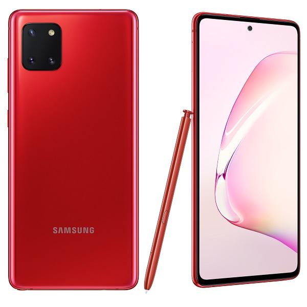 Samsung Galaxy Note10 Lite Crvena