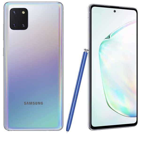 Samsung Galaxy Note10 Lite Srebrni