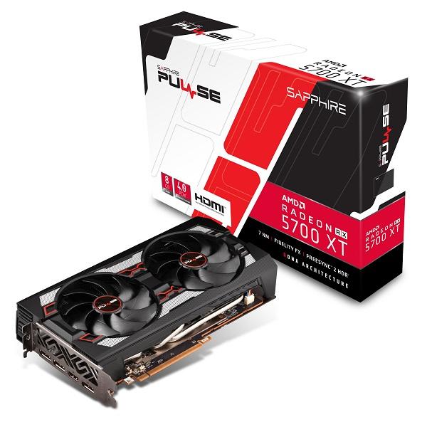 Sapphire RX 5700XT Pulse, 8GB GDDR6