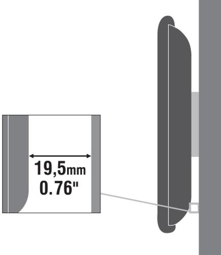 SBOX zidni stalak za TV PLB-2264F