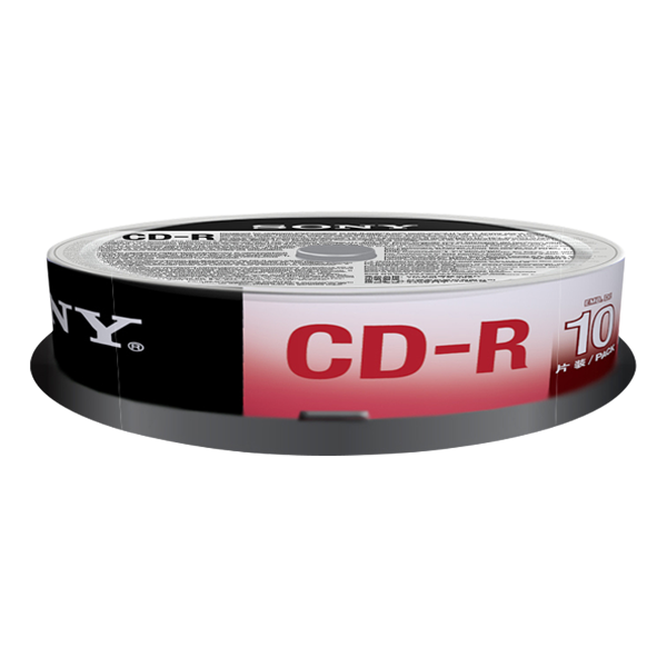 Sony CD-R 48x, 700MB, spindle, 10 kom