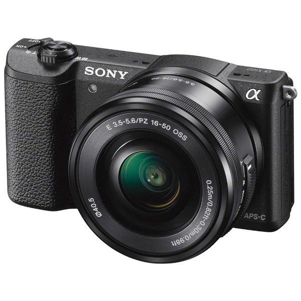 Sony ILCE-5100LB 24,3MP, 16-50mm kit , APS-C, CMOS
